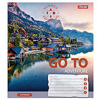 Зошит 48 клітинка Go to adventure 1Вересня (10/200)