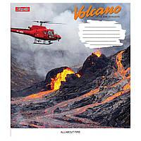 Зошит 48 клітинка Volcano 1Вересня (10/200)
