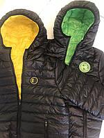 """Двостороння демісезонна куртка для хлопчика """"Карл"""""""