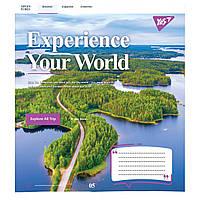 Зошит 96 клітинка Experience your world Yes (5/120)
