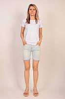 Стильные джинсовые шорты сток оптом 16Є, лот 3 шт