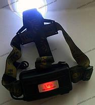 Налобный фонарь Police BL 2188 T6, zoom, аккум., фото 3