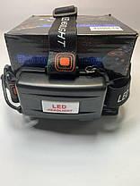 Налобний ліхтар Police / Bailong / Boruit RJ 3000 (6633) - T6 2XPE - 50000W /2 акум./ ЗУ 220-12В, фото 2