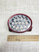 Налобний ліхтарик YJ-1898, 13led/ акумуляторний, фото 2