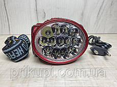Налобний ліхтарик YJ-1898, 13led/ акумуляторний, фото 3