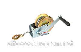Лебедка барабанная тяговое усилие 454 кг, трос 10 м MASTERTOOL 86-8145