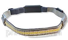 Ліхтарик легкий налобний Stripe Ultra bright YD-33 37SMD ЗУ micro USB, вбудований акумулятор, фото 3