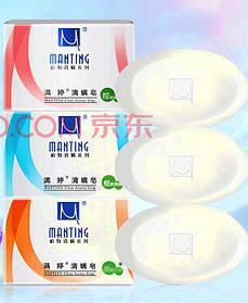 Мыло Мантинг при уничтожении подкожных клещей