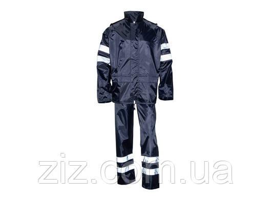 Костюм от дождя (куртка+брюки) с PVC покрытием PLYMOUTH HV