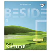 Зошит 48 лінія BESIDE иридиум+ УФ. спл. МІКС (10/160)