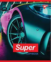 Зошит 48 ліні SUPER CAR иридиум+УФ.спл. МІКС Yes