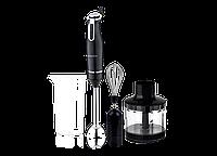 Ручной, погружной блендер LIBERTON LHB-0800 3в1(+миксер, +измельчитель, 800Вт, Германия)