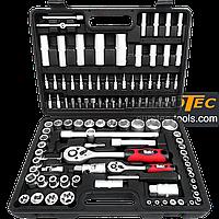 Набір торцевих головок і біт 108 предметів Onex OX-250M, набір інструментів для авто, фото 1