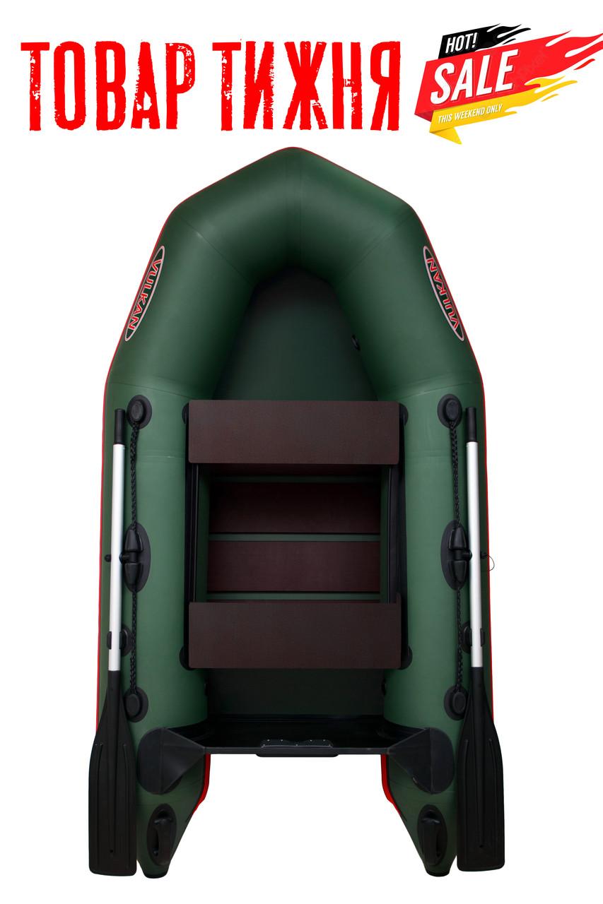 Моторная надувная ПВХ лодка Vulkan VM240 с реечной сланью