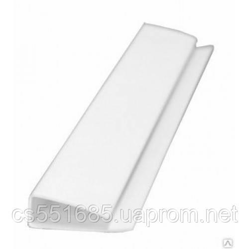 Стартовая полоса белая 6м для пластиковых панелей