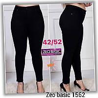 """Джинси-АМЕРИКАНКА батал жіночі Zeo Basic стильні, розміри 42-52 """"JeansStyle"""" недорого від прямого постачальника"""