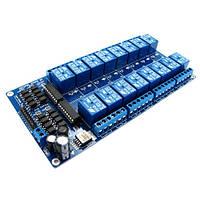 16-Канальный Модуль Реле 12В Для Arduino Pic Arm