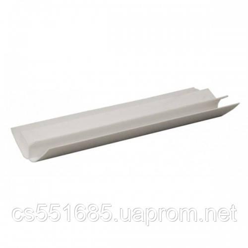 Угол внутренний белый 6м для пластиковых панелей