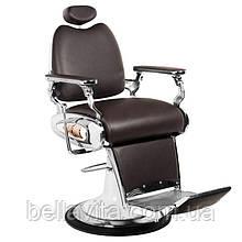 Парикмахерское мужское кресло Tiger коричневый