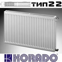 Радиатор Korado тип 22 боковое H500 L400 Чехия