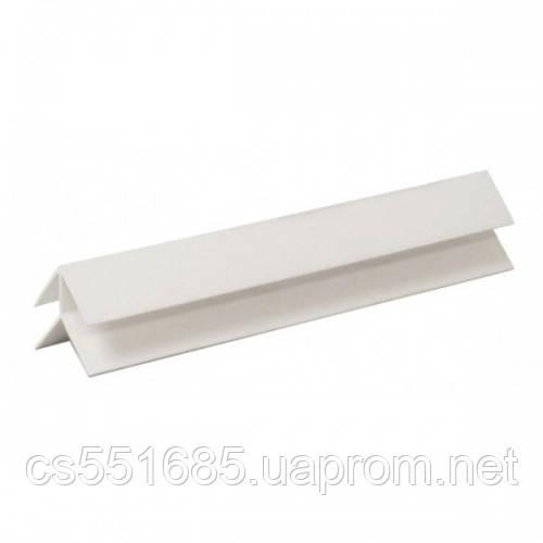 Угол наружный белый 6м для пластиковых панелей