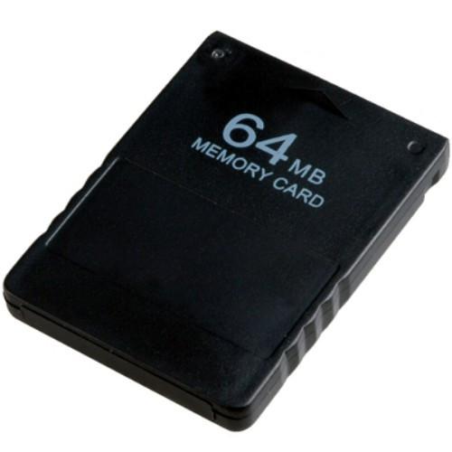 Карта Пам'яті Memory Card 64 Мб Для Sony Playstation 2, Ps2
