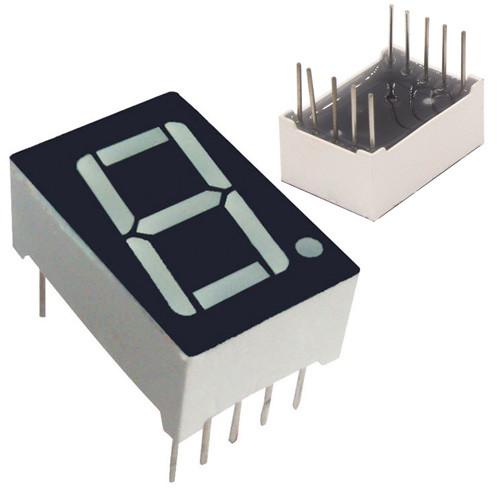 """7-Сегментный Индикатор 0.56"""" Красный 10Pin Катод Arduino"""