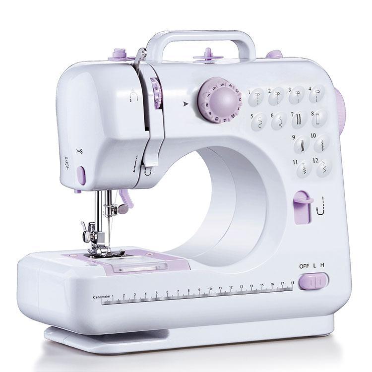 Портативна багатофункціональна швейна машинка Michley LSS FHSM-505 з доставкою по Україні