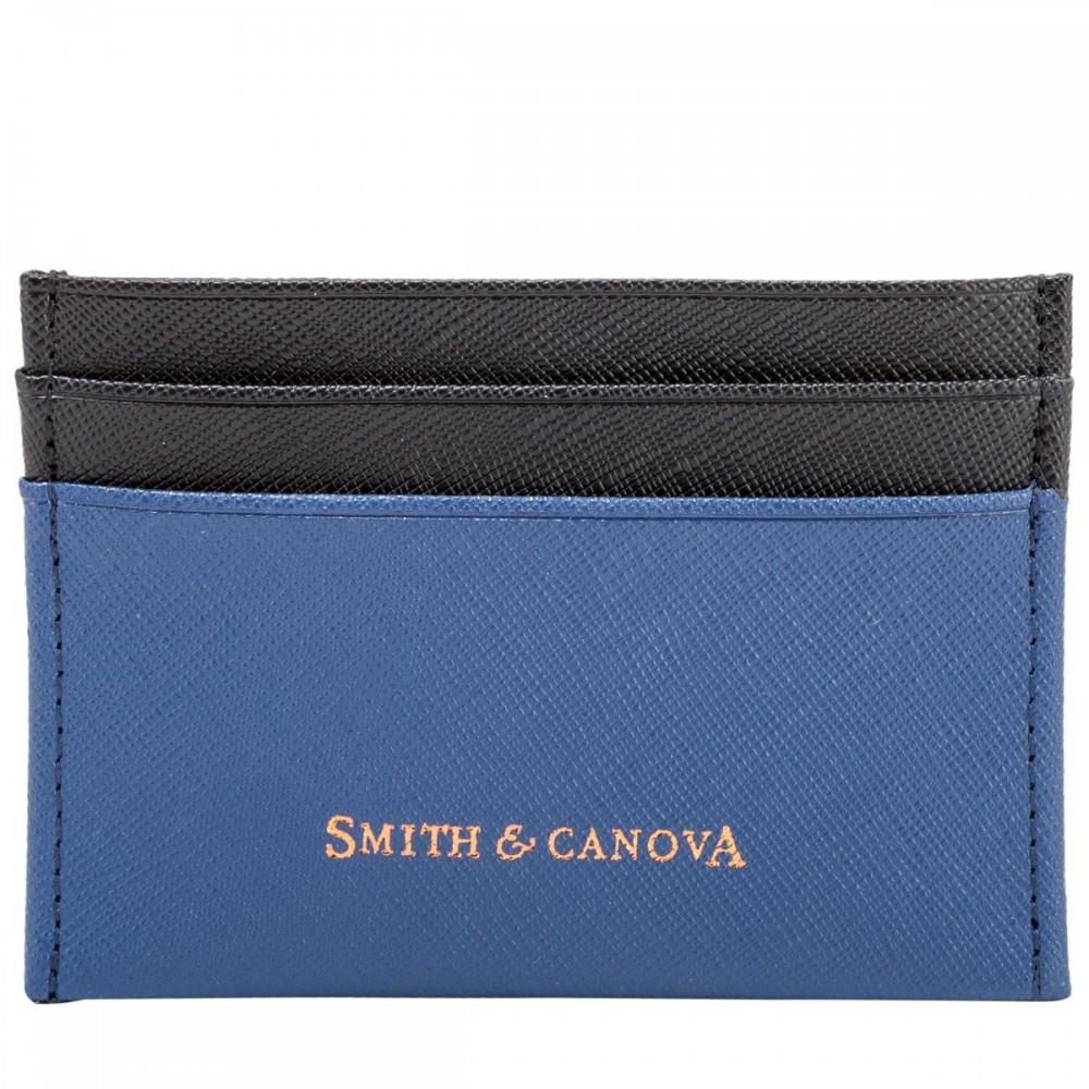 Картхолдер Smith & Canova 26827 Devere (Navy-Black)