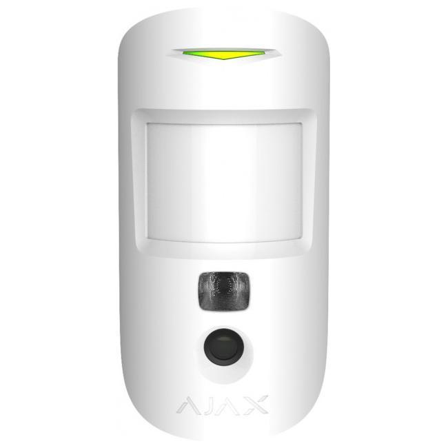 MotionCam white EU Датчик руху з фотокамерою Ajax