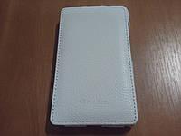 Чехол-флип Melkco Leather Case Jacka White for Nokia Lumia 820 (NKLU82LCJT1WELC)