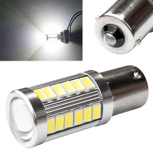 Led 1156 Ba15S P21W Лампа В Автомобиль, 33 Smd 5630, Белый
