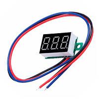 Цифровой Вольтметр 4.5-30В Led Измеритель Напряжения Вольтажа