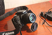 Профессиональный фотоаппарат Canon EOS 600D Зеркалка.Комплект. Б\У, фото 1