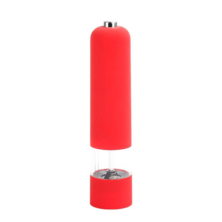 Автоматическая мельница для перца специй Pepper Muller перцемолка электрическая на батарейках красная (ST)