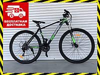 Горный велосипед Топ Райдер 19рама 29 дюймов колеса К611 зеленый