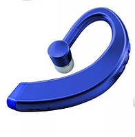 Универсальная беспроводная гарнитура Bluetooth 5.0 Hands Free с микрофоном для занятий спортом (синяя)