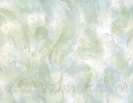 Фиалка зеленая 250х6000х10мм. Пластиковые панели (ПВХ) с термопереводной печатью Стимекс