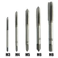 Набір З 5 Інструментів Для Нарізування Внутрішньої Різьби M3 M4 M5 M6 M8
