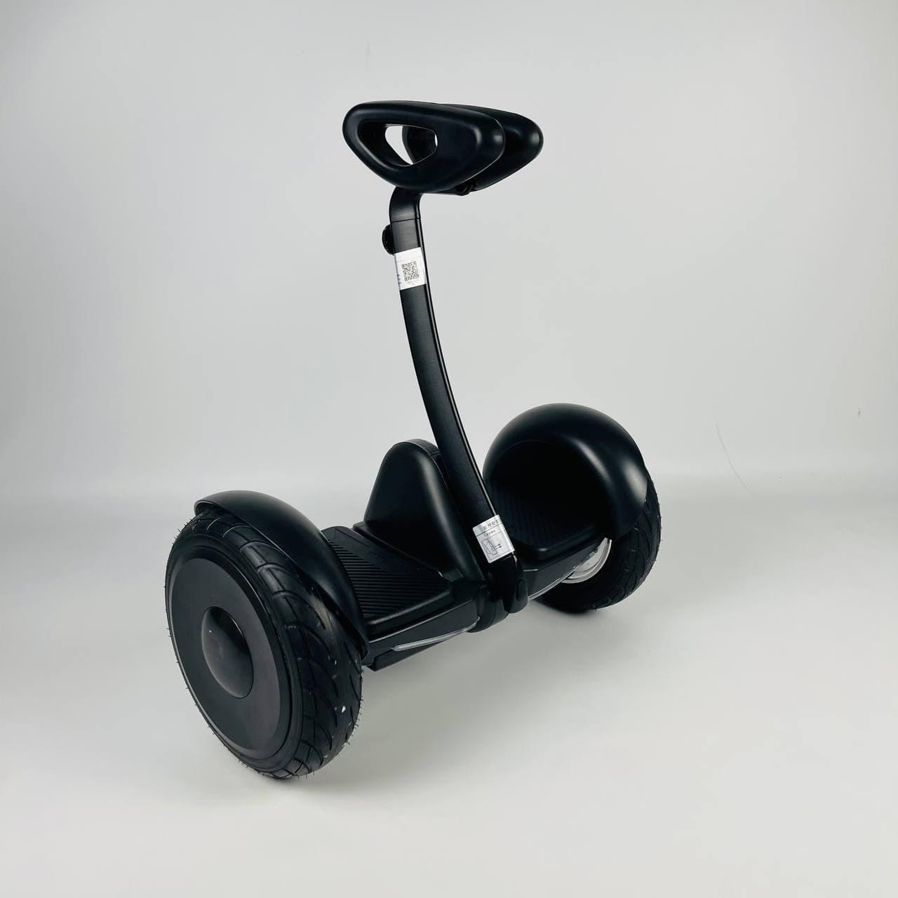 Гіроскутер Segway Ninebot Minirobot FastBoot Чорний Гіроскутор з палочкою