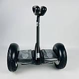 Гіроскутер Segway Ninebot Minirobot FastBoot Чорний Гіроскутор з палочкою, фото 3