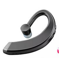 Универсальная беспроводная гарнитура Bluetooth 5.0 Hands Free с микрофоном для занятий спортом (черная)
