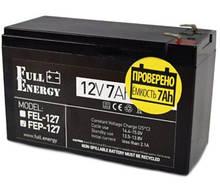 Full Energy FEP-127 Аккумулятор 12В 7 Ач для ИБП