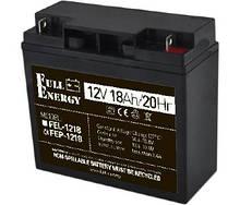 Full Energy FEP-1218 Аккумулятор 12В 18 Ач для ИБП