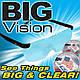 Збільшувальні окуляри-лупа BIG VISION 160% для рукоділля, з доставкою по Києву, Україні, фото 9