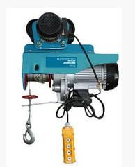 Тельфер электрический Kraissmann SHT 250/500 (высота подъема 10м/20м, с самодвижующейся тележкой)