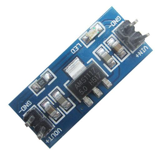 Перетворювач Напруги Dc-Dc Понижуючий, Модуль Ams1117, 5В, Arduino