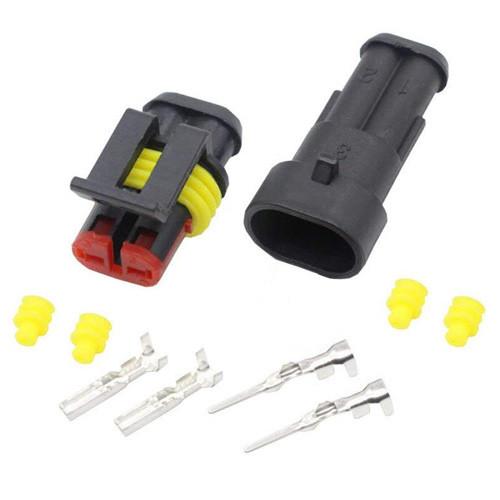 Роз'єм Автомобільний Електричний Герметичний Dj7021-1.5 Комплект 2Pin