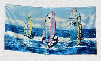 Рушник пляжний Вітрильники