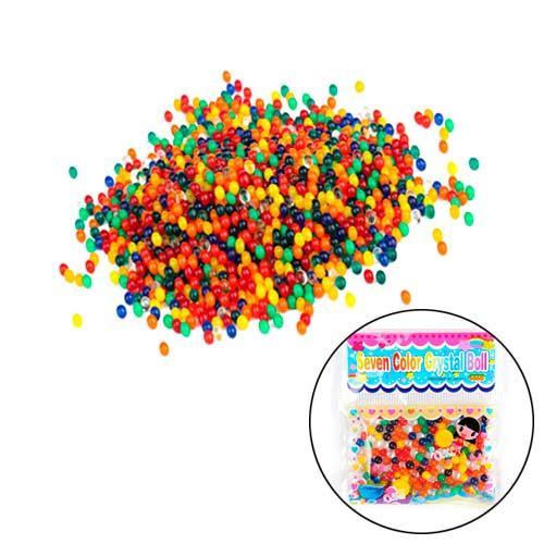 Гідрогель 24шт аквагель кольоровий гелевий наповнювач Bio Gel